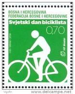 BHHB 2011-322 VORLD DAY OF CIKLING, BOSNA AND HERZEGOVINA-HERZEGBOSNA(CROAT), 1 X 1v, MNH - Bosnie-Herzegovine