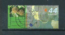 2007 Netherlands Trees In Summer+tab Used/gebruikt/oblitere - Periode 1980-... (Beatrix)