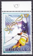 1997, Slowenien, Slovenia,  Mi. 213, MNH **,  Alpines Weltcup-Skirennen - Slovenië