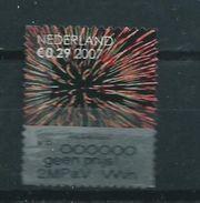 2007 Netherlands Christmas,kerst,weihnachten,noël,kraszegel Used/gebruikt/oblitere - Periode 1980-... (Beatrix)