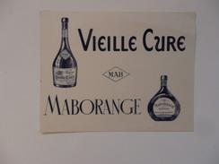 Buvard Liqueur La Vieille Cure Et Malborange. - Buvards, Protège-cahiers Illustrés
