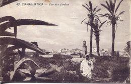 Casablanca - Vue Des Jardins (002126) - Casablanca