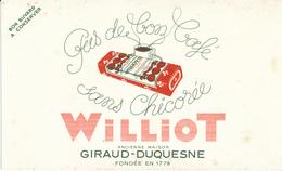 BUVARD - Chicorée WILLIOT - Coffee & Tea