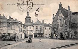 (79) Airvault - Place St Saint Pierre - Attelage à Chien - Airvault