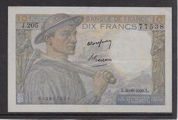 France 10 Francs Mineur 30-6-1949 - Fayette N°8-22 - SUP - 1871-1952 Anciens Francs Circulés Au XXème