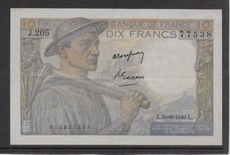 France 10 Francs Mineur 30-6-1949 - Fayette N°8-22 - SUP - 10 F 1941-1949 ''Mineur''