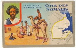 Cote Des Somalis Pub Lion Noir Djibouti  Cheik Said Tadjoura Obock Erythrée British Somaliland - Djibouti