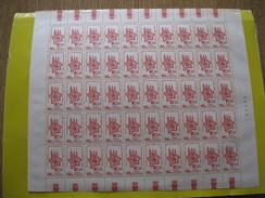 1964 FOGLIO COMPLETO DEL 500 £ 7^ ASSEMBLEA GENERALE DEI COMUNI D'EUROPA (EDIFICI STORICI EUROPEI). Spedizione Gratuita - Full Sheets