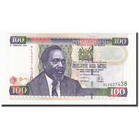 Kenya, 100 Shillings, 2004-02-02, KM:42a, NEUF - Kenya