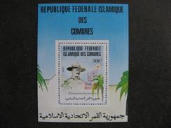 Comores: TB BF N° 44, Neuf XX. - Comores (1975-...)