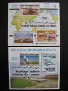 Comores: TB BF N° 45 Et 46, Neufs XX. - Comores (1975-...)