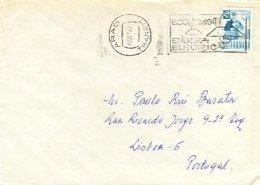 RUMANIA, 1977, Cover - Cartas
