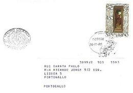 SAN MARINO, 1986, Cover - FDC