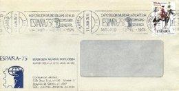 SPAIN, 1975, Cover - 1931-Aujourd'hui: II. République - ....Juan Carlos I