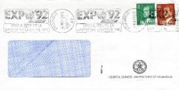 SPAIN, 1992, Cover - 1991-00 Lettres