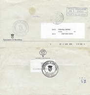 SPAIN, 1996, Cover - 1991-00 Lettres