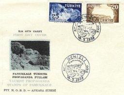 TURKEY, 1958, Cover - FDC