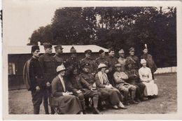 """Photo Juillet 1919 Bois De Vincennes - """"Jeux Interalliés"""" Au Stade Pershing, Soldat De Chaque Nation Allié (A184, Ww1) - Guerre 1914-18"""