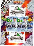 Burundi  -  Formule 1  -  Ayrton Senna-Giuseppe Farina  -  4v MS Neuf/mint - Cars