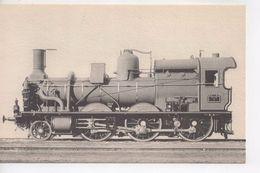 Cpa.Trains.Locomotives Du Sud Est.Machine N°1 à Vapeur Saturée Simple Expansion - Eisenbahnen