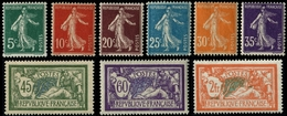 Lot N°7202 France Année Complète 1907 Neuf ** LUXE - ....-1939