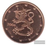 Finland FIN 1 2006 Stgl./unzirkuliert Stgl./unzirkuliert 2006 Kursmünze 1 Cent - Finland