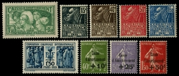 Lot N°7215 France Année Complète 1931 Neuf ** LUXE - France