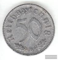 German Empire Jägernr: 372 1942 A Very Fine Aluminum Very Fine 1942 50 Reich Pfennig Imperial Eagle - [ 4] 1933-1945 : Third Reich