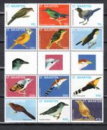 St Maarten 2013,12V In Sheet,birds,vogels,vögel,oiseaux,pajaros,uccelli,aves,MNH/Postfris(L3281) - Vogels