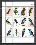 St Maarten 2012,12V In Sheet,birds,vogels,vögel,oiseaux,pajaros,uccelli,aves,MNH/Postfris(L3282) - Vogels