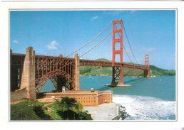 Serie Cartoline Dal Mondo De Agostini  USA - SAN FRANCISCO Il GOLDEN GATE - Cartoline