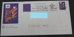 PAP FRANCE - Coupe Du Monde 1998 De Football - Soccer - Paris / Repiquage Spécial - Entiers Postaux