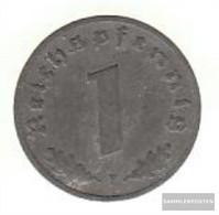 German Empire Jägernr: 369 1942 J Very Fine Zinc Very Fine 1942 1 Reich Pfennig Imperial Eagle - [ 4] 1933-1945 : Third Reich