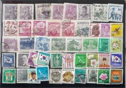 South-Korea 50 Different Stamps - Korea, South