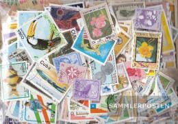 Cuba 500 Different Stamps - Cuba