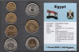 Ägypten Stgl./unzirkuliert Kursmünzen Stgl./unzirkuliert 1984-2005 1 Piaster Bis 1 Pound - Aegypten