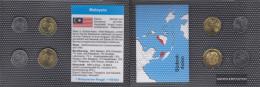 Malaysia Stgl./unzirkuliert Kursmünzen Stgl./unzirkuliert 2012- 5 Sen Until 50 Sen - Malaysie