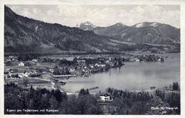 Egern Am Tegernsee Mit Kampen 1931 (002150) - Tegernsee