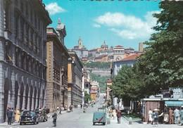 CARTOLINA - POSTCARD - BERGAMO - VIA  LOCATELLI E CITTA ALTA - Bergamo