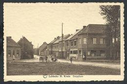 +++ CPA - LEBBEKE  H.Kruis -  Dorpplaats - Café  // - Lebbeke