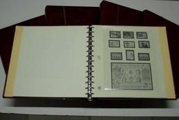 Safe Dual Vordruckalbum Falzlos Spanien 1978-2009 Red - Albums & Binders