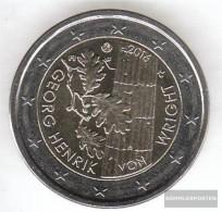 Finland 2016 Stgl./unzirkuliert Reprint: 1 Million. Stgl./unzirkuliert 2016 2 Euro Georg Henrik Of Wright - Finland