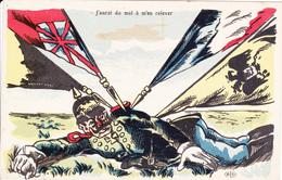 SATIRIQUE-ANTI KAISER-GUILLAUME II      J'AURAI DU MAL A M'EN RELEVER - Oorlog 1914-18