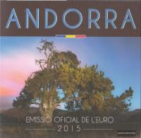 Andorra 2015 Stgl./unzirkuliert Official Kursmünzensatz Stgl./unzirkuliert 2015 Euro Reprint In Folder - Andorra