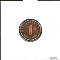 German Empire Jägernr: 361 1940 F Stgl./unzirkuliert Bronze Stgl./unzirkuliert 1940 1 Reich Pfennig Imperial Eagle - [ 4] 1933-1945 : Third Reich