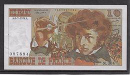 France 10 Francs Berlioz - 6-7-1978 - Fayette N°63-24 - SPL - 1962-1997 ''Francs''