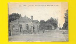 TOUL Rare Quartier Perrin-Brichambaut Et Rte De La Justice () Meurthe & Moselle (54) - Toul