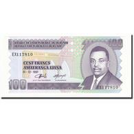 Burundi, 100 Francs, 1997-12-01, KM:37b, NEUF - Burundi