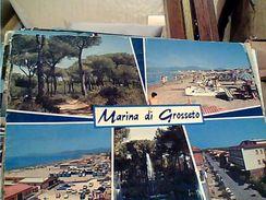 4 CARD MARINA DI GROSSETO  VB1970/80 GL19504 - Grosseto