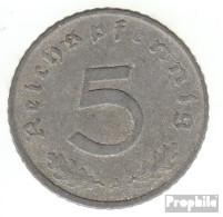 Deutsches Reich Jägernr: 370 1943 E Sehr Schön Zink Sehr Schön 1943 5 Reichspfennig Reichsadler - 5 Reichspfennig